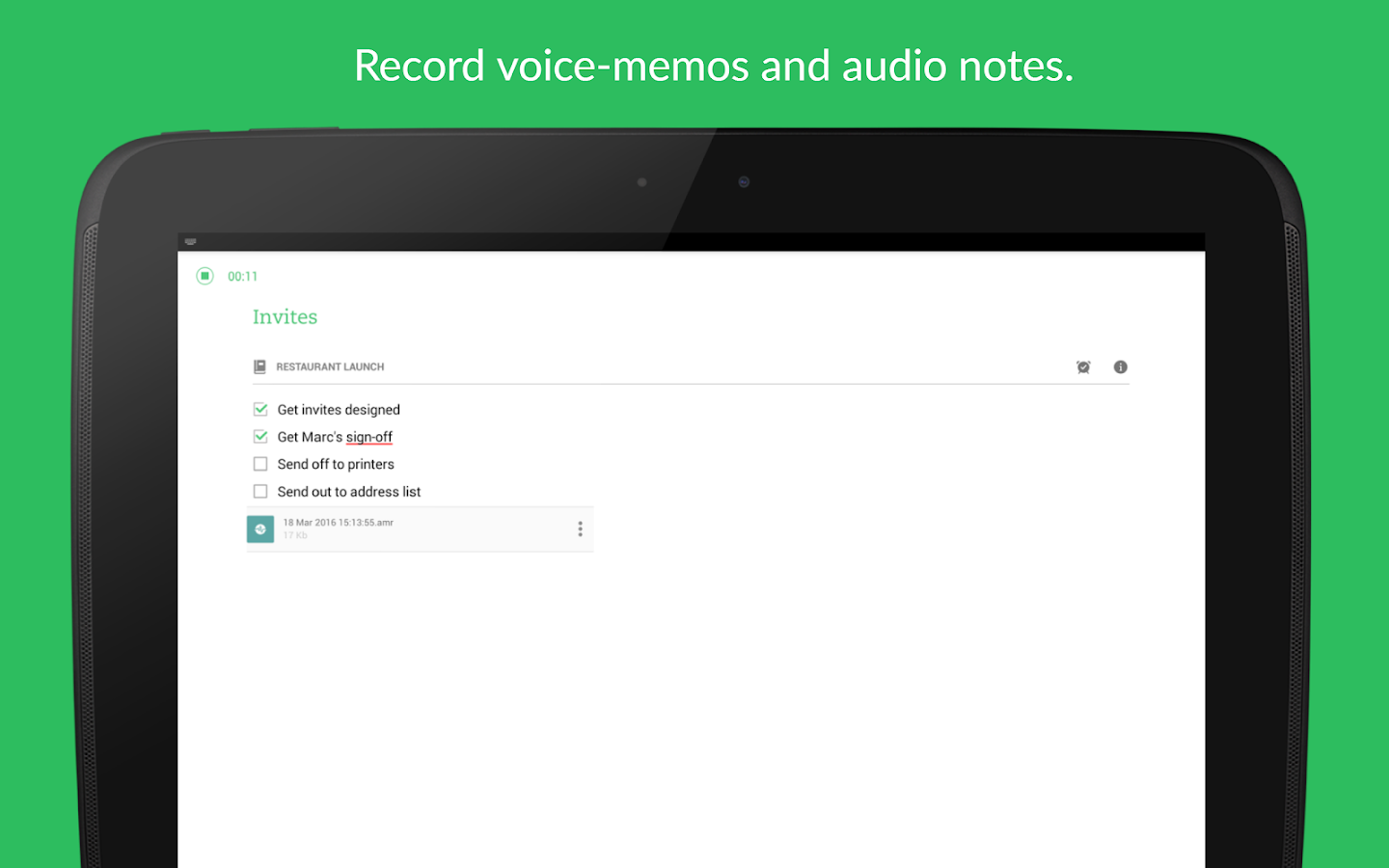 Evernote - stay organized. Screenshot 11