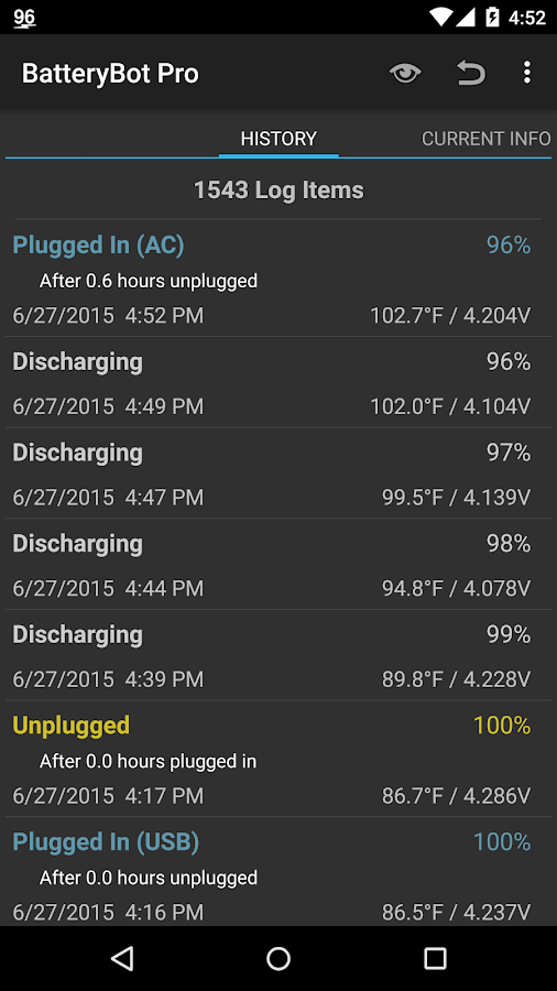 BatteryBot Pro Screenshot 4