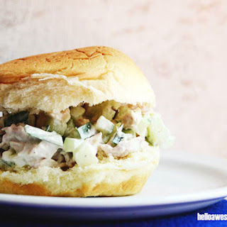 Cucumber Chicken Salad Sandwich