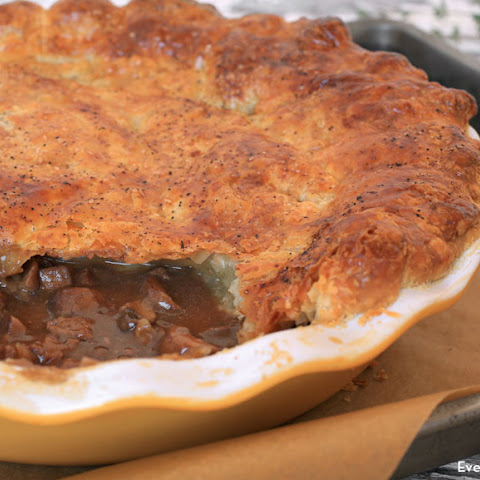 Steak and Mushroom Pot Pie