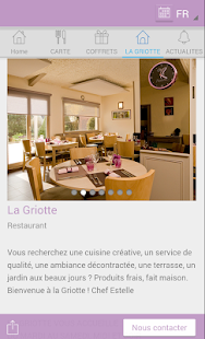 RESTAURANT LA GRIOTTE - screenshot