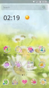 Spring Flower Theme for Lollipop - Android 5.0