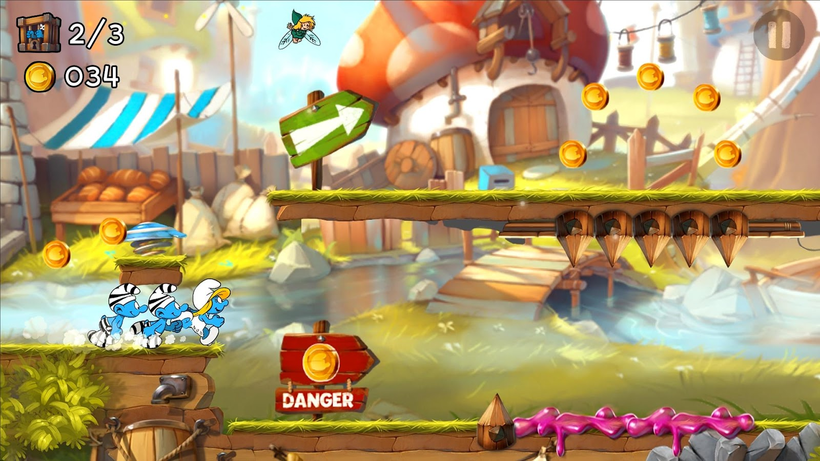 Smurfs Epic Run Screenshot 5