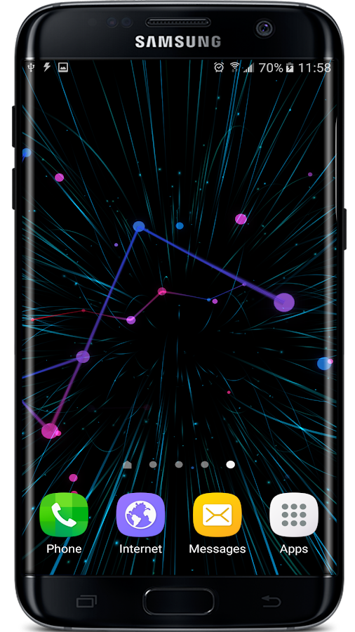 Abstract Particles Wallpaper Screenshot 7