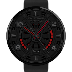 Parcivale watchface by Excalib