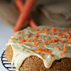 Orange Zest Carrot Cake With Cashew Cream Frosting
