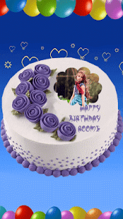 Photo On Birthday Cake - screenshot