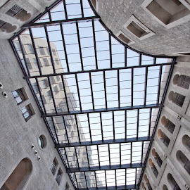 SKY LIGHT by Jody Frankel - Buildings & Architecture Architectural Detail ( interior, jerusalem, building, ceiling, stone, waldorf astoria, hotel, israel )