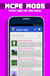 Mutant Creatures MODS For MCPE - screenshot