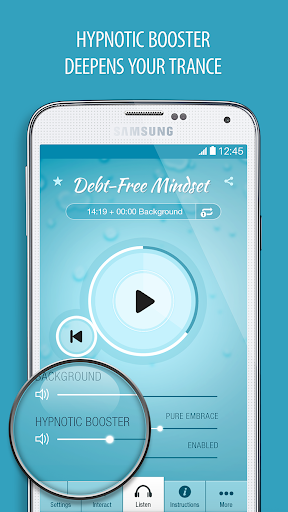 Debt-Mindset Hypnosis Pro - screenshot
