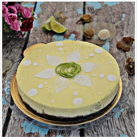 Chocolate Lime Cheesecake