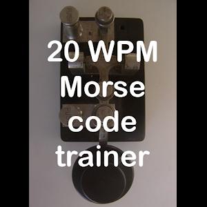 20WPM Amateur ham radio Koch CW Morse code trainer For PC / Windows 7/8/10 / Mac – Free Download