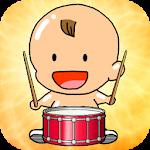 Baby Mini Drum Studio Icon