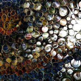 Circles by Peter Wabbel - Abstract Patterns ( circles, masterofthemoment, art, palmademallorca, arte, mallorca, majorca, peterwabbel, circle, pwc79 )