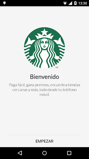 Starbucks Mexico screenshot 1