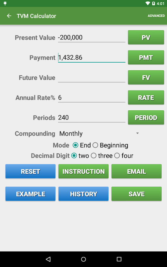 Financial Calculators Pro Screenshot 17