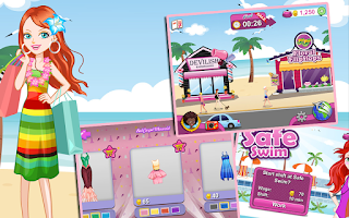 Screenshot of Shopaholic World: Dress Up