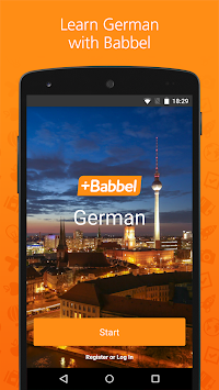 Learn German With Babbel APK screenshot thumbnail 1