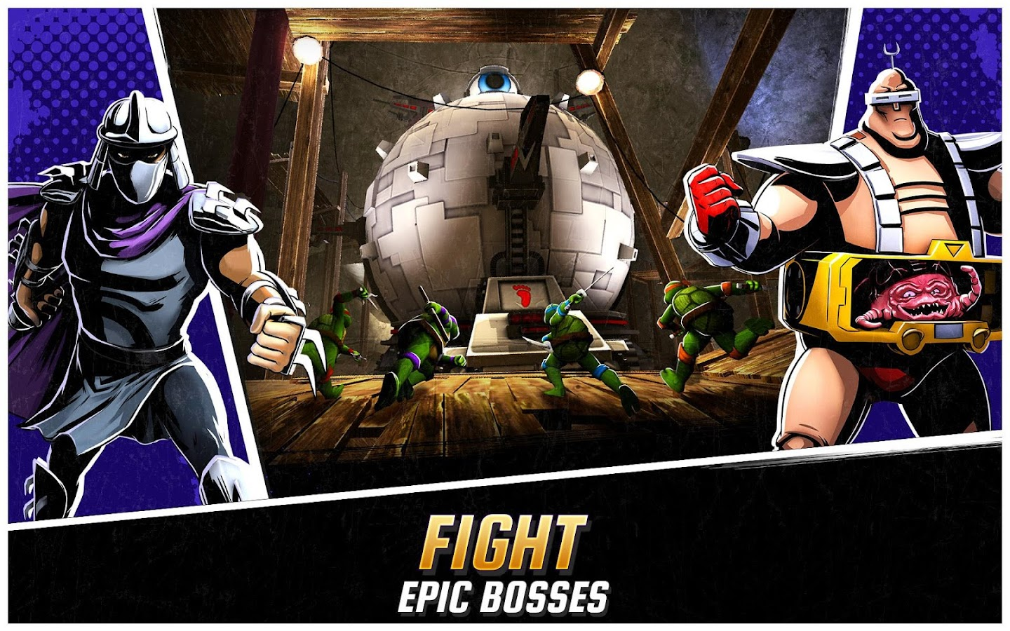 Ninja Turtles: Legends Screenshot 1