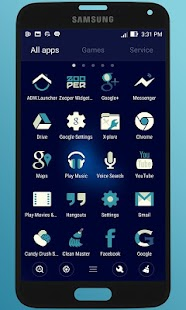 BlueMia - icon pack- screenshot thumbnail