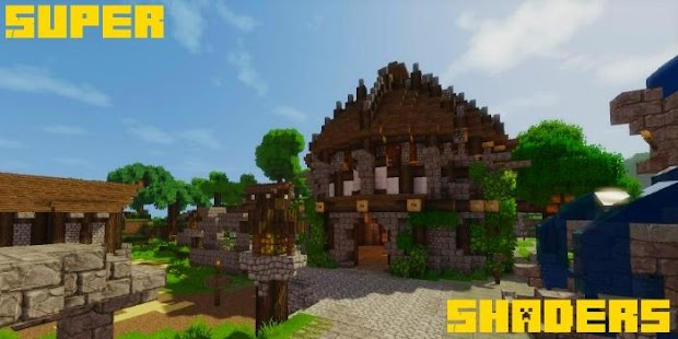 App Super Shaders Mod MCPE APK for Kindle