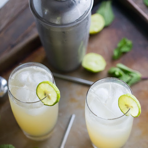 Key Lime Vodka Collins