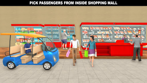 Shopping Mall Rush Taxi: City Driver Simulator For PC