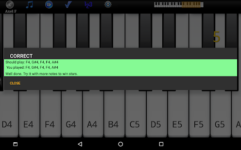 Piano melodie pro Screenshot