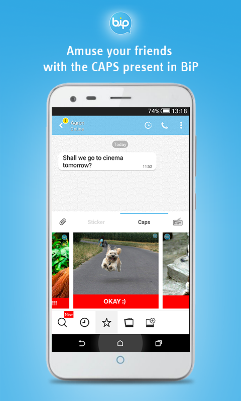 BiP Messenger Screenshot 2