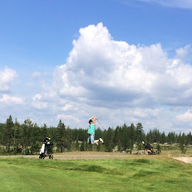 Just breath by Ingi Hauksson - Sports & Fitness Golf