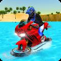 Water Surfer Bike Rider