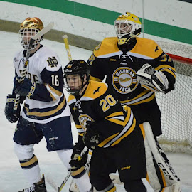 Notre Dame vs Michigan Tech by Benny Lopez - Sports & Fitness Ice hockey ( hockey, notre dame, michigan tech )