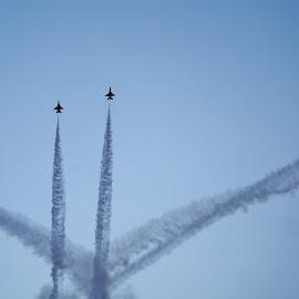 Aerobatics #1 by Koh Chip Whye - Transportation Airplanes (  )