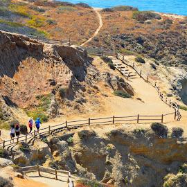 Hiking trail by Renu Mudi - Landscapes Mountains & Hills ( trail, beach, landscape, hiking,  )