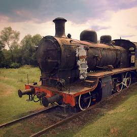 Old train by Miroslav Ranilović - Transportation Trains ( train tracks, old, train, transportation, trains )