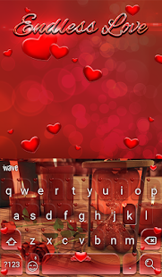 Endless Love Animated Keyboard - screenshot
