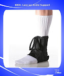 Lace Up Athletic Ankle Support Brace For Injured Ankle Protection And Sprain Support-6004/6007