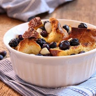 Blueberry Maple Bread Pudding