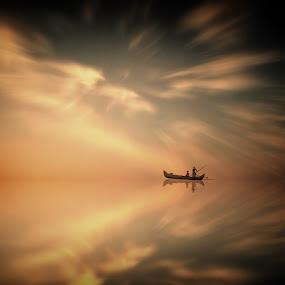 Heavens by Frank Quax - Digital Art People ( editing, sea, people, manipulation, photoshop )