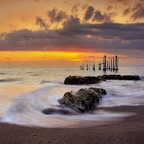 Sunset by Dede GreenHolic - Landscapes Waterscapes
