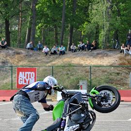 Motorcycle art by Paula Guerra - Transportation Motorcycles ( motorbike, motorcycle, show, fun, people,  )