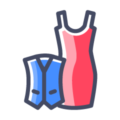 M & D Footwear, ,  logo