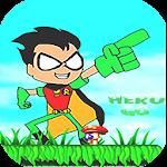 Superhero Titans Go Run Adventure Icon