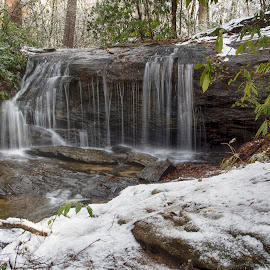 2015-WCF-0736 by Ross Boyd - Landscapes Waterscapes ( mountains, winter, snow, sc, creeks )