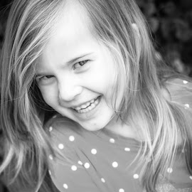 Lauren by Allison Sizemore - Babies & Children Child Portraits ( black and white, kids portrait )