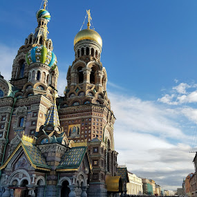 St. Petersberg by Mike F - Buildings & Architecture Architectural Detail ( russia, st petersberg )