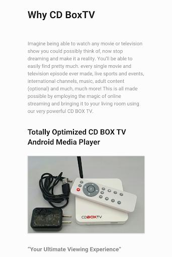 CDBOXTV Kodi Player - screenshot