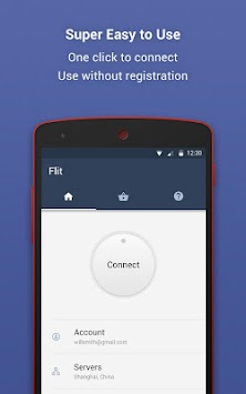Flit VPN - Access Chinese Web & Apps Abroad APK screenshot thumbnail 3