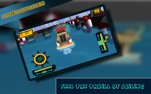 Power Boat Parking - screenshot