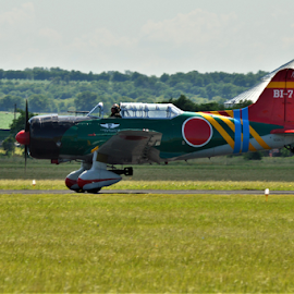 Tora, Tora, Tora by Benito Flores Jr - Transportation Airplanes ( air show, japan, temple, propeler, texas,  )